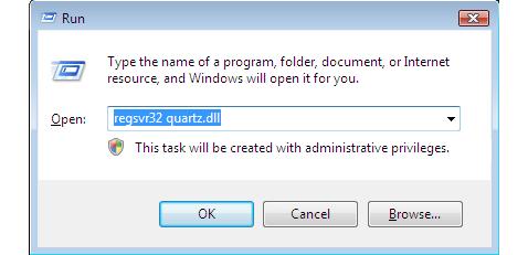 Install a .DLL file in Windows