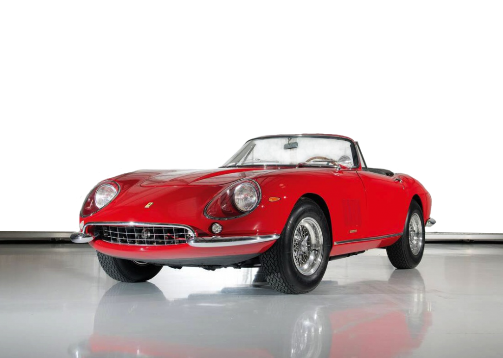 Ferrari-275-GTB4-NART-Spider most expensive cars in the world 2016