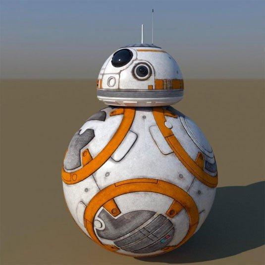 Free 3D models - BB-8