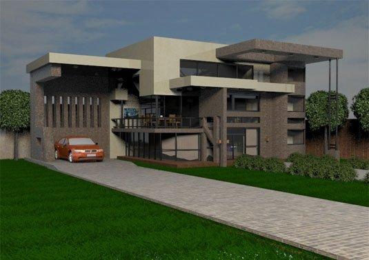 Free 3D models - Destan House