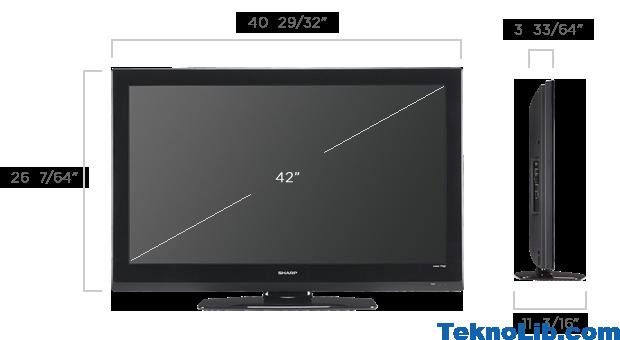 42 inch ka ekran eder 55 in tv ka ekran teknolib. Black Bedroom Furniture Sets. Home Design Ideas
