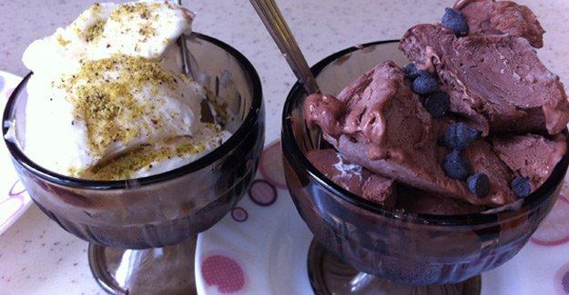Evde yapılabilecek sade-kakaolu dondurma tarifi