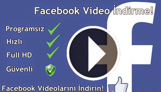 facebook-video-indirme-programsiz