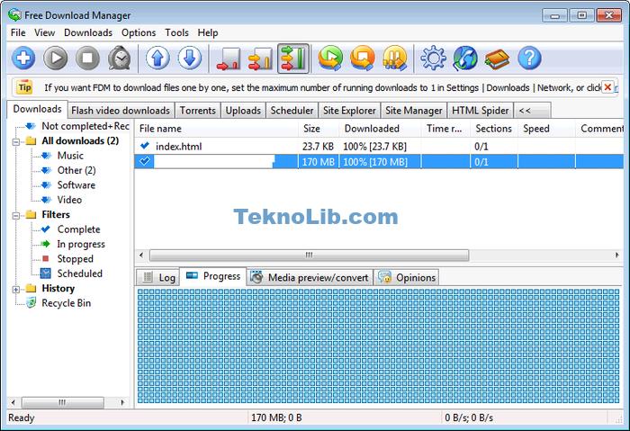 Free Download Manager ile ilgili görsel sonucu