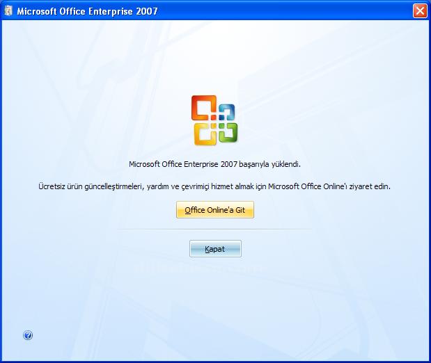 Office 2007 nasıl kurulur?