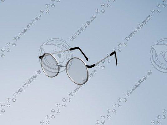 Free 3D models - glasses