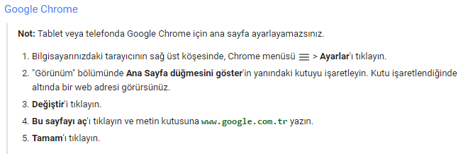google-chrome-anasayfa-google-yapma