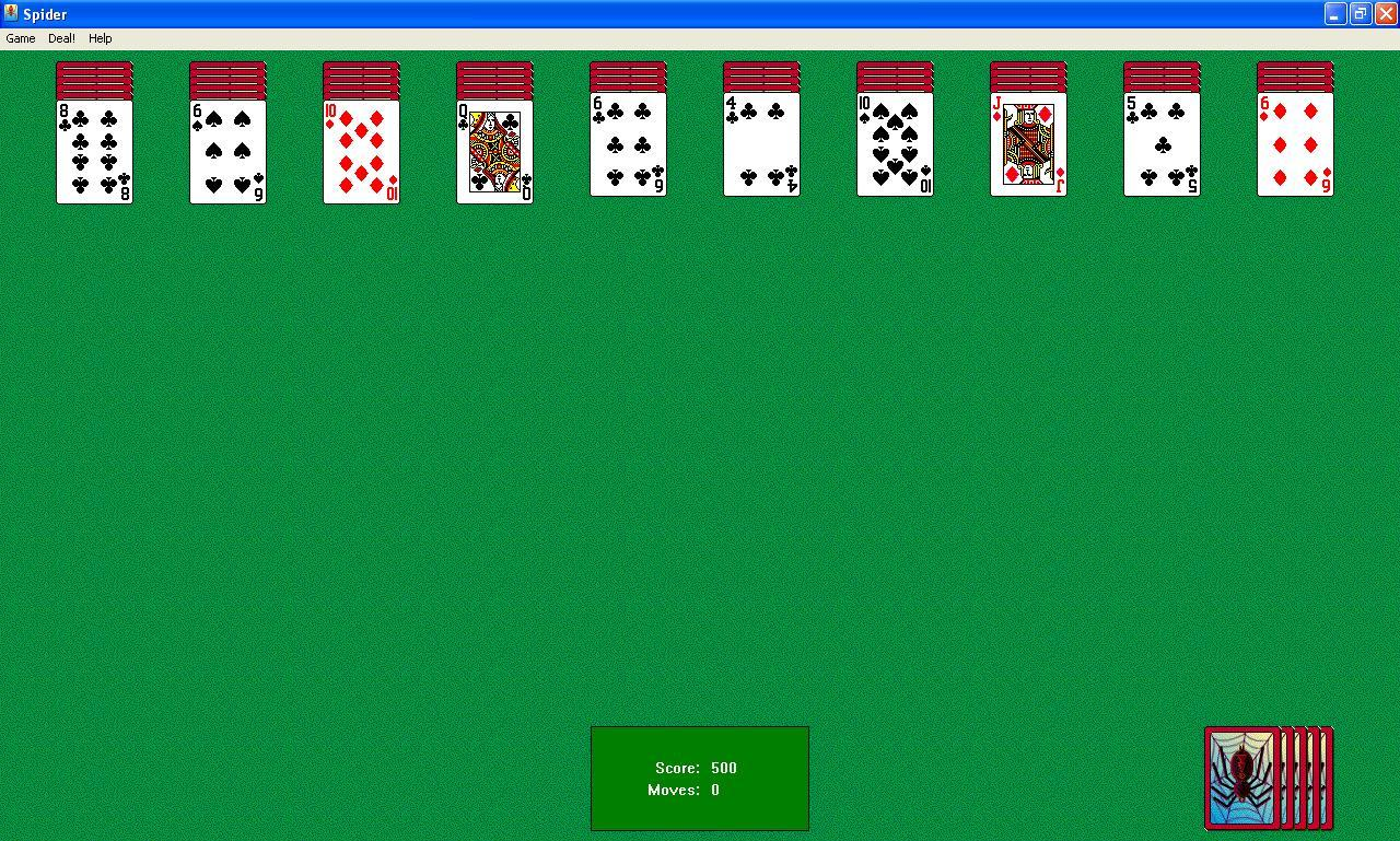 spyder solitaire