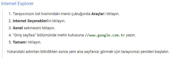 internet-explorer-google-ana-sayfa-yapma