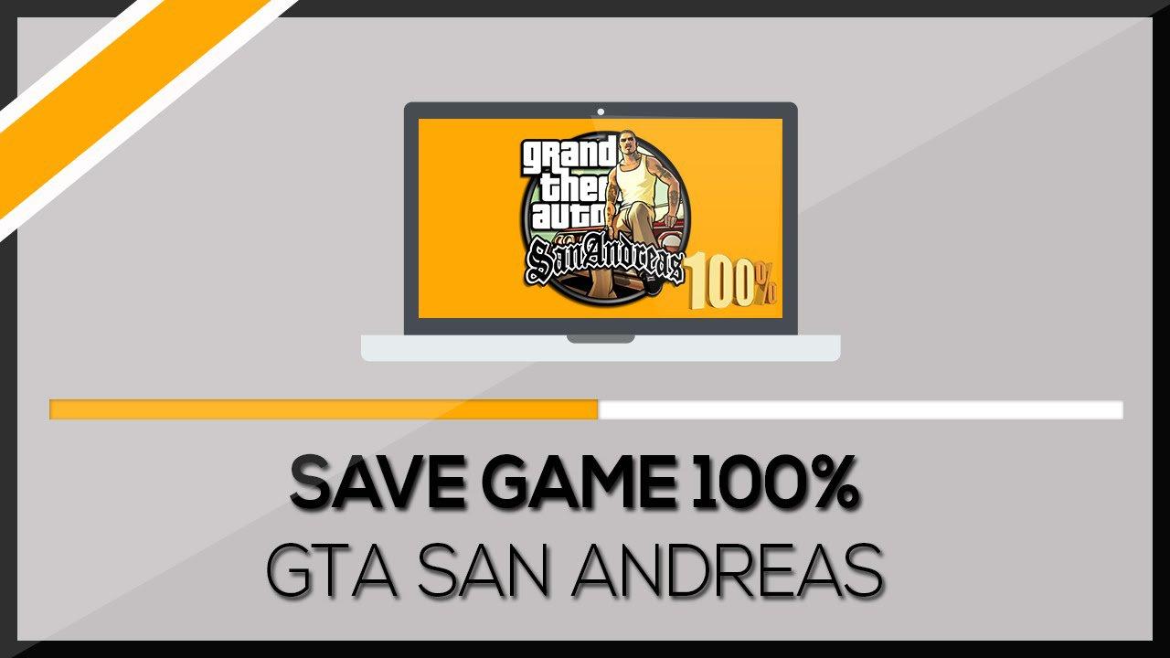 GTA San Andreas 100% Save İndir Kurulumu Resimli Anlatım