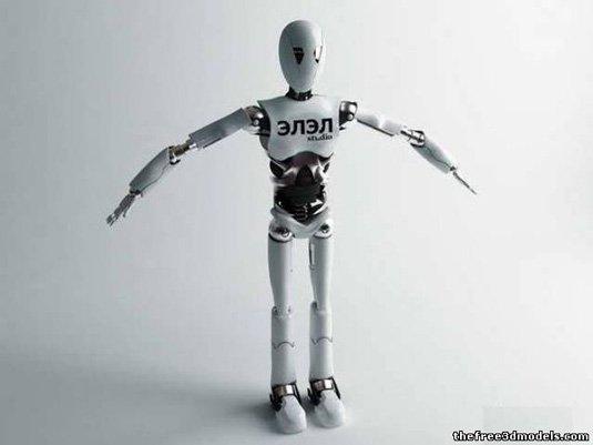 Free 3D models - Robot