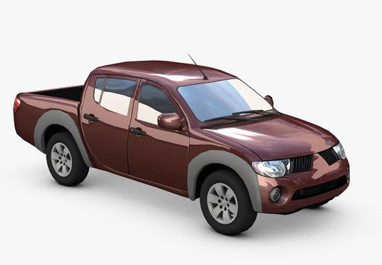 Free 3D models - Truck