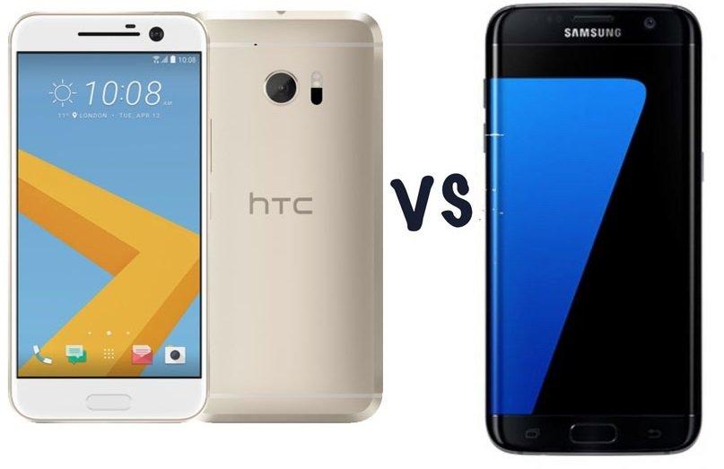 Galaxy S7 edge vs HTC10 silikonvadisi