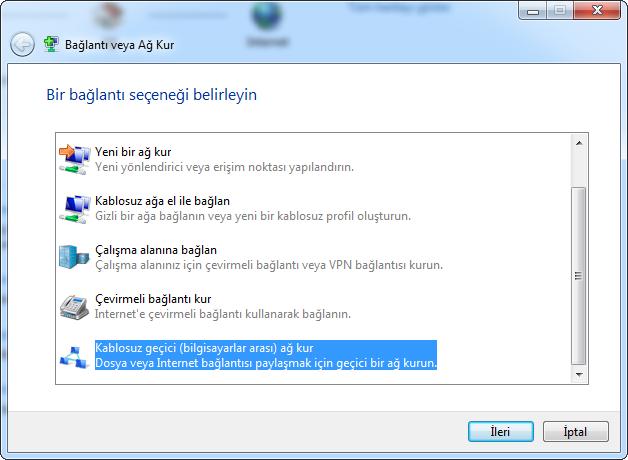 Windows 7 Kablosuz Ag Nas?l Kurulur - TeknoLib
