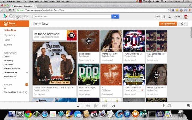 Spotify -bb- Google Play Music