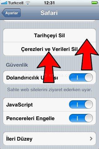 iphone_cerezleri_temizleme