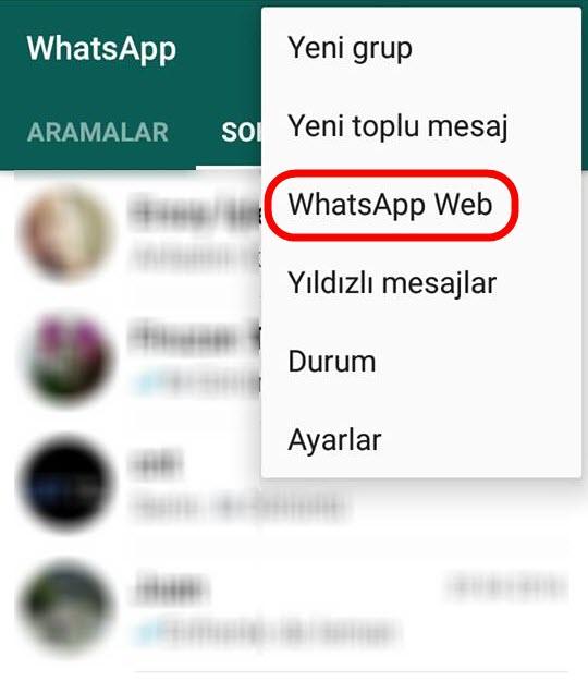 WhatsApp Bilgisayar Versiyonu Nasıl Kullanılır