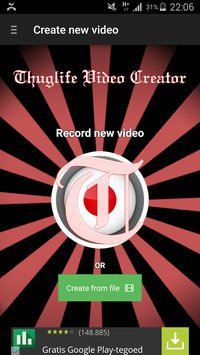 Thuglife Video Creator poster