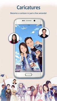 MomentCam Cartoons & Stickers apk screenshot