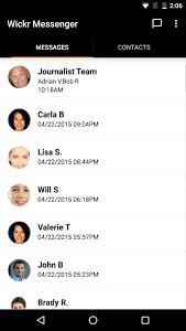 Wickr Me - Secure Messenger 2.6.4.1 screenshot 1