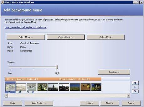 Microsoft Photo Story