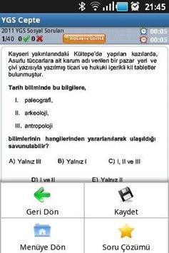 YGS Cepte apk screenshot