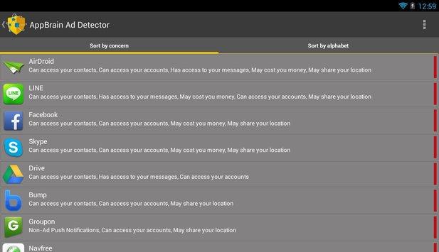 AppBrain Ad Detector apk screenshot