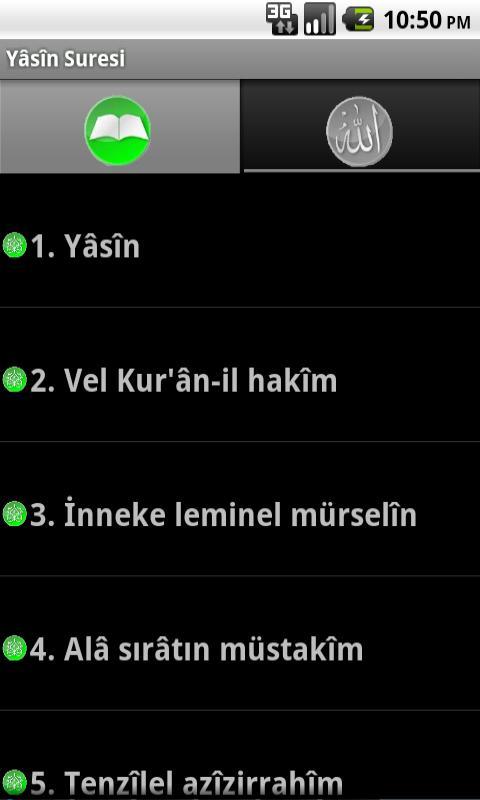Türkçe okunuşu