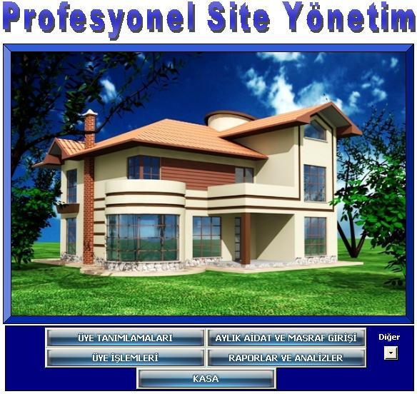 Site Yönetim Programı