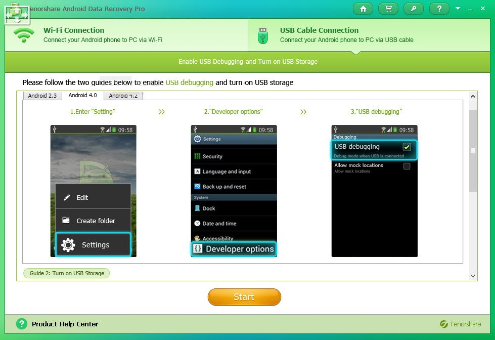 Crack 7 data android Recovery