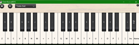 Free Software to Convert your Keyboard to Piano