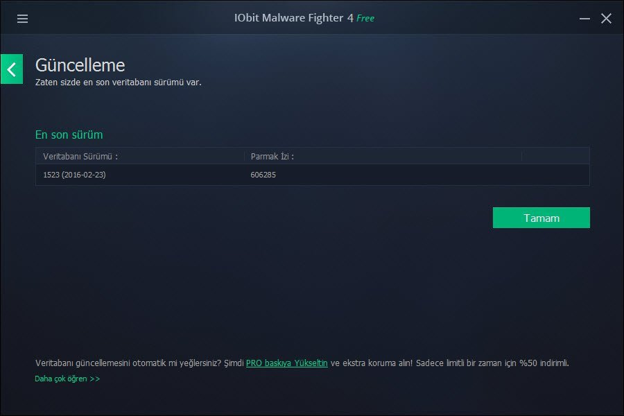 IObit Malware Fighter Free 3