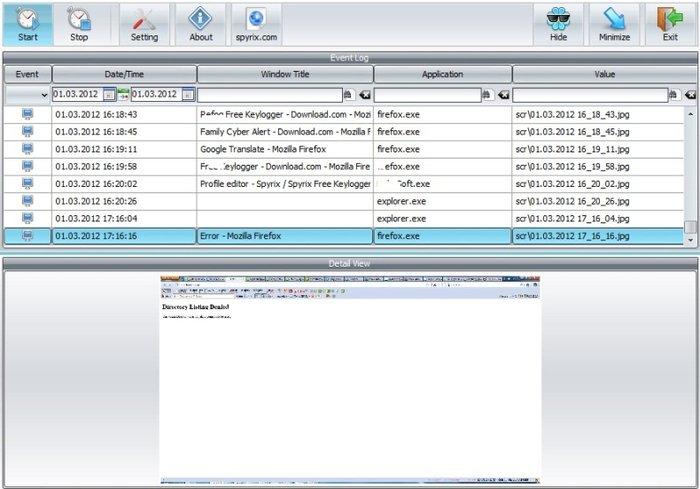 Keylogger İndir - Bilgisayar Takip ve İzleme Yazılımı - Tamindir