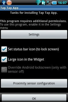 Tap Tap App  ( Screen On-Off ) apk screenshot