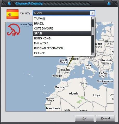 Free Hide IP  :: Choose IP Country