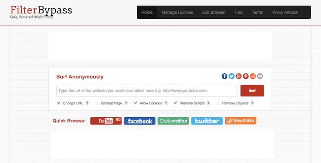 filterbypass.me proxy screenshot