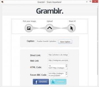Gramblr screenshot 2