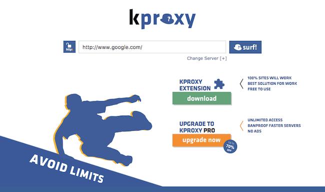 website kproxy.com