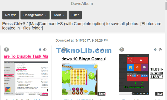 Chrome Extension To Download Album From Instagram, Facebook, etc