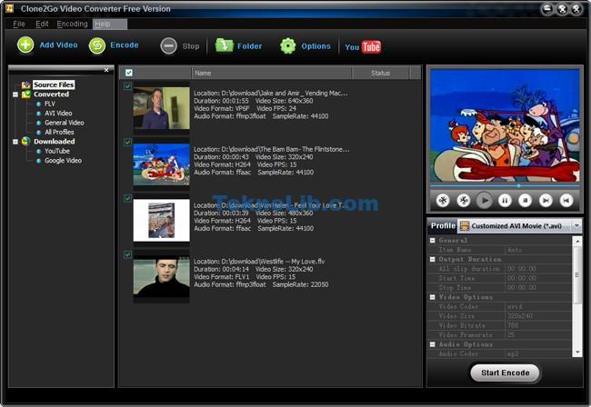 Clone2Go Free Video Converter ile ilgili görsel sonucu