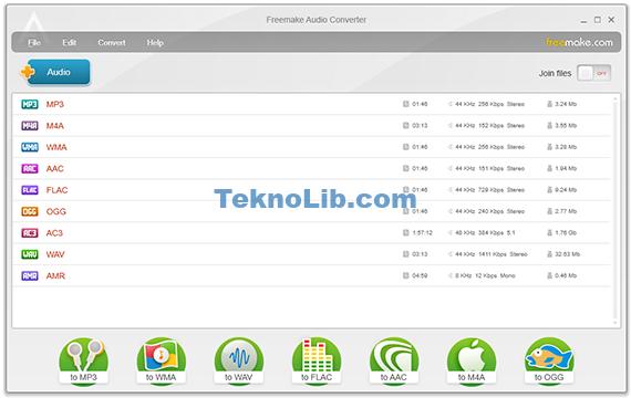 Freemake Audio Converter ile ilgili görsel sonucu