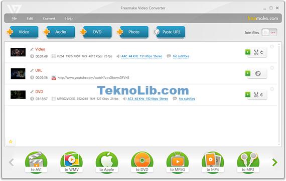 Freemake Video Converter ile ilgili görsel sonucu