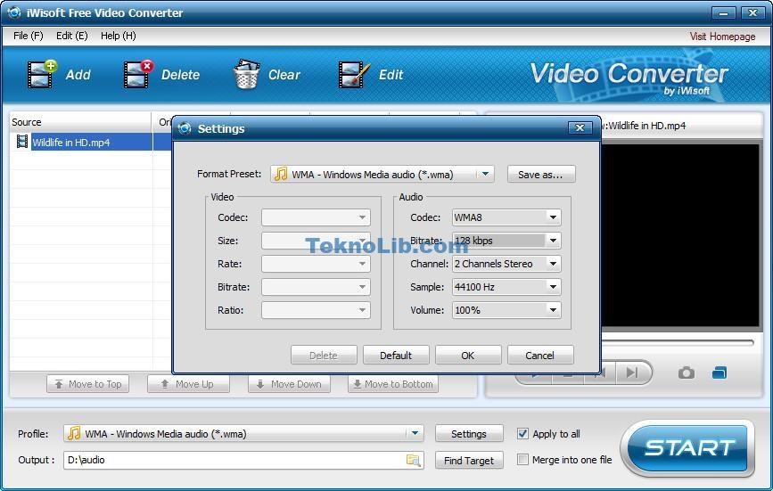 iWisoft Free Video Converter ile ilgili görsel sonucu