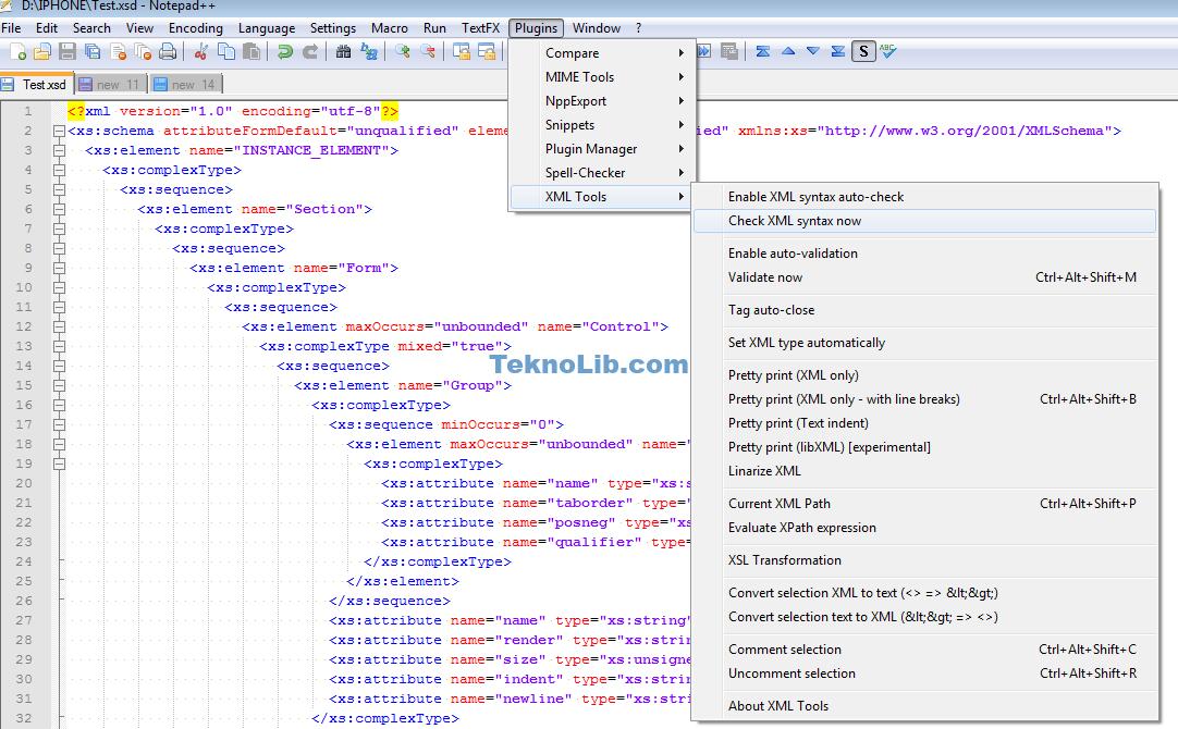 XML notepad++ ile ilgili görsel sonucu