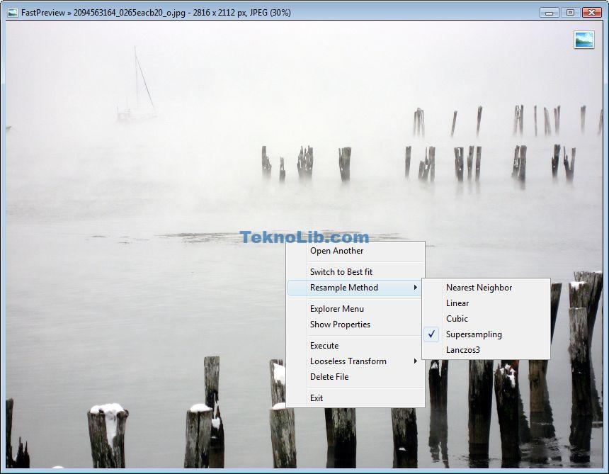 FastPreview Viewer ile ilgili görsel sonucu