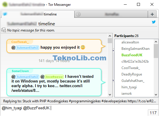 Tor Messenger Anonymous Instant Messenger for Chat over TOR