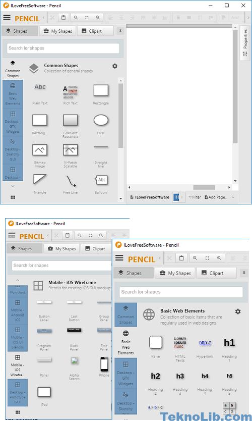 pencil interface