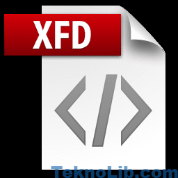 Picture of the XFDF file icon