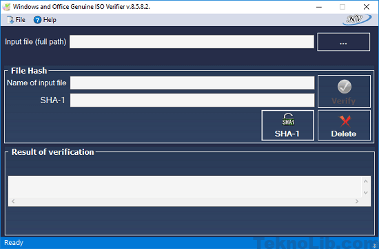 Windows and Office genuine ISO verifier interface