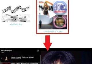 SpotlistTV play spotify playlist